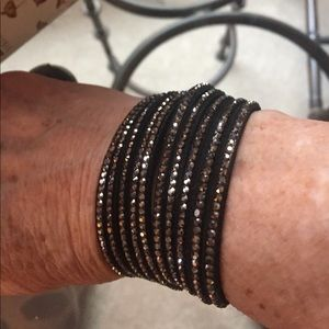 Pretty, Sparkly Wrap Bracelet